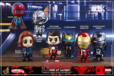 $ CDN173.11 • Buy Hot Toys Cosbaby Marvel Avengers Age Of Ultron Series 2. 7-Figure Box Set *RARE