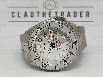 $ CDN113.60 • Buy Seiko Diver 7s26-0020 Skx007 Mother Of Pearl Mm300 Mod Automatic Watch 9n3928