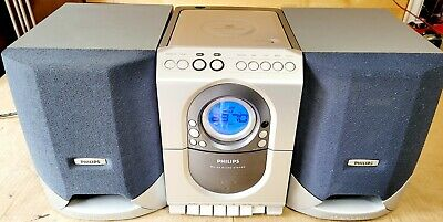 £4.99 • Buy Philips MC150 Micro System With Philps FB118PH Dynamic Bass Stereo Speakers