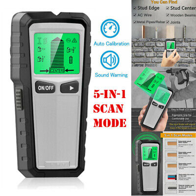 £18.74 • Buy LCD Wall Stud Center Finder Metal Live Wire Detector Wood Copper Scanner