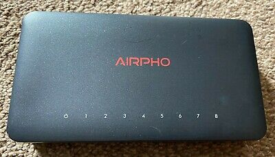 £6.50 • Buy Airpho 10/100Mbps Desktop Computer Switch USB Port - No Power Supply - Used