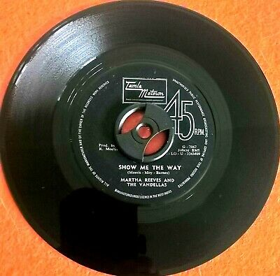 £14 • Buy Northern Soul JAMAICAN Martha Reeve And The Vandellas Show Me The Way VG++