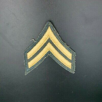 £1.42 • Buy US Army Corporal Rank Insignia Patch