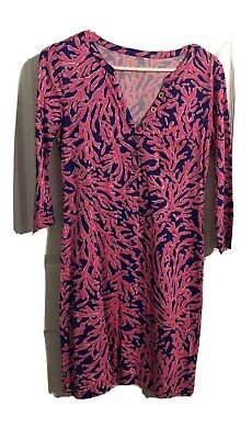 $20 • Buy Lilly Pulitzer RIVA Dress Size Small W/ Buttons