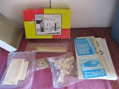 $ CDN5.53 • Buy Timberline #138 HO Scale Wooden Professional Building Train Building KIT