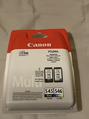 £11.50 • Buy Canon PG-545 / CL-546 Ink Cartridge - Pack Of 2