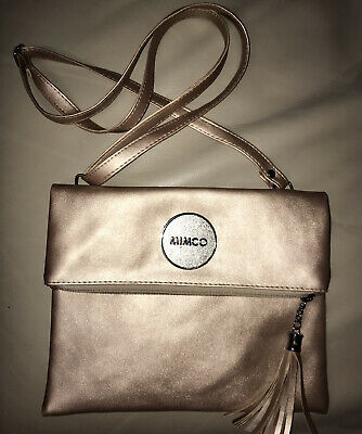 AU10.50 • Buy Small Pink And Rose Gold Mimco Crossbody Bag