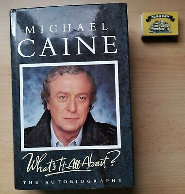 £11.59 • Buy Michael Caine  Whats It All About Hardback Book 1992 Signed