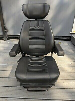 £100 • Buy Quality Marine Suspension Seat Helm Chair - Captains Pilot Boat Fishing Trawler
