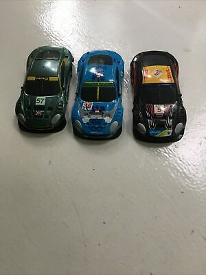 £4.99 • Buy Hornby Micro Scalextric Aston Martin DBR 9 Body Shells X3 As Pictured