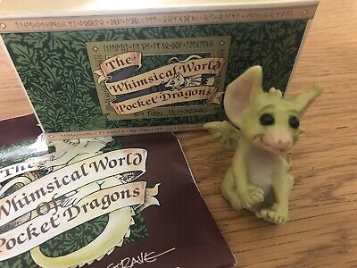 £4.99 • Buy The Whimsical World Of Pocket Dragons Rare Playing Footsie By Real Musgrave 1991