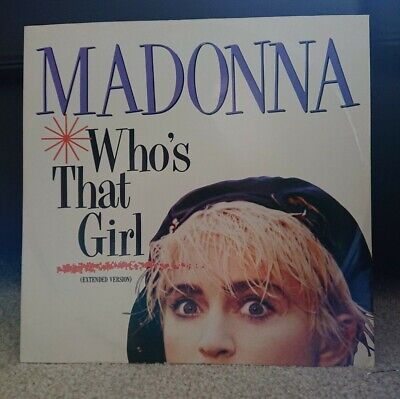 """£3 • Buy Madonna – Who's That Girl (Extended Version). 12"""" Vinyl Record"""