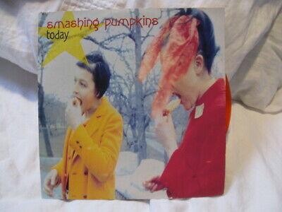 """£45 • Buy The Smashing Pumpkins Today 7"""" Red Vinyl Limited Edition"""
