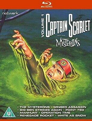 £5 • Buy Captain Scarlet And The Mysterons DVD Vol. 1 NEW