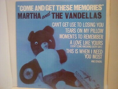 £15 • Buy Martha And The Vandellas,come And Get These Memories Lp , 're Issue On Gordy Vgc