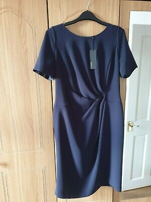 £5 • Buy Marks And Spencer Navy Dress 14 Autograph Range