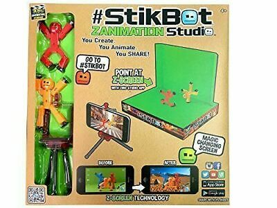 £15 • Buy StikBot Zanimation Studio Now With StikBot Pets! Create, Animate, Share Fun Gift