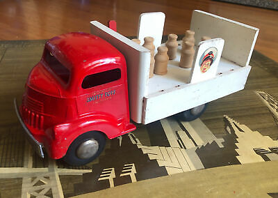 $100 • Buy 1/16 50s Smith Miller Smitty Toy GMC COE Arden Milk Delivery Truck Pressed Steel