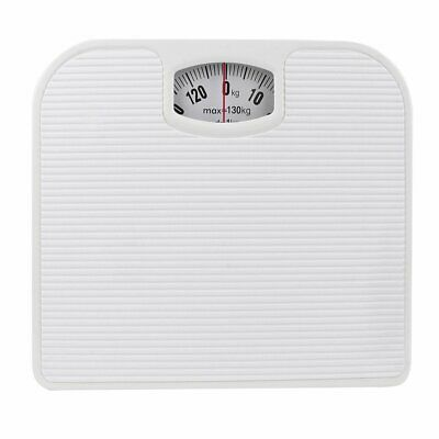 £11.99 • Buy 130KG Bathroom Scales Weighing Body Weight Mechanical Home Lose Fat Dial White