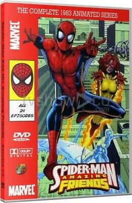 £28.61 • Buy Spider-Man And His Amazing Friends 1983 Animated Cartoon TV Series DVD Set