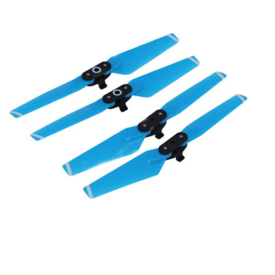 AU15.94 • Buy 2pairs Quick-Release Folding Blue Wing 4730F CW CCW Propeller Blade F/ DJI Spark