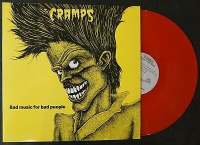 £25 • Buy The Cramps - Bad Music For Bad People - Translucent Red Vinyl - Reissue - NM