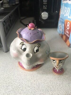 £8 • Buy Disney Traditions Mrs Potts And Chip Sculpture