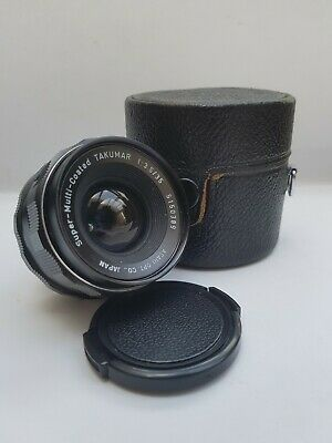 £75 • Buy Super Takumar 35mm F3.5 M42 Mount With Caps, Filter And Case, Camera Tested.