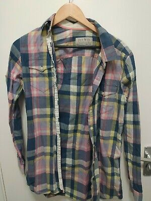 £2.90 • Buy Jack Wills Womens Checkered Shirt Size 10 Great Condition