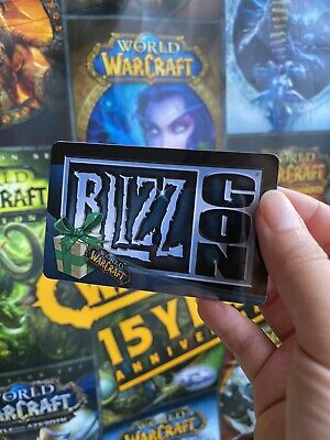 £510.23 • Buy BLIZZARD WoW Loot Card - Blizzcon 2008 Polar Bear Mount Loot - Unscratched