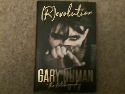 £20 • Buy Signed Book - (R)evolution: The Autobiography By Gary Numan Revolution First Ed