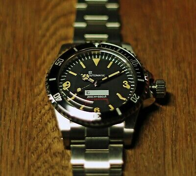 $ CDN82.39 • Buy Vintage 5512 369 Style Homage/Mod Watch, Seiko NH35 Automatic Movement