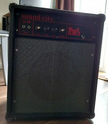 £5 • Buy Sound City Sc 30 Guitar Combo Amp  Vintage 1970's. Tested And Working.