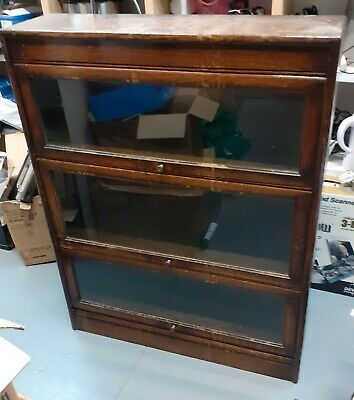 £50 • Buy Victorian Antique Shop Display Or Possibly Glass Fronted Bookcase/drawers