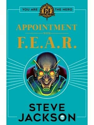 AU10.20 • Buy Fighting Fantasy Appointment With F.E.A.R. Choose Your Own Adventure Book