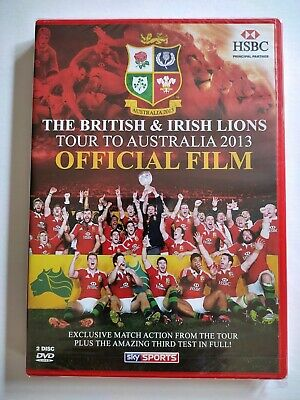 £3.95 • Buy The British & Irish Lions Tour Of Australia 2013 Official DVD - New & Sealed