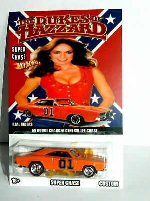£1.62 • Buy **HOT WHEELS CUSTOMS 69  DODGE CHARGER General Lee The Dukes Of HAZZAR REAL R**