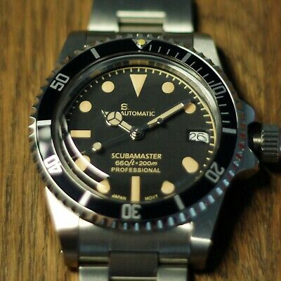 $ CDN108.61 • Buy Vintage Sub Style  Scubamaster  Modded Automatic Watch - Seiko NH35 Movement