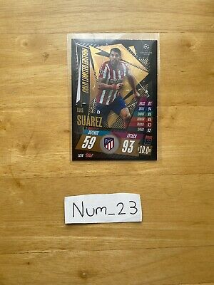 £5.50 • Buy Match Attax Extra 20/21 Limited Edition (Gold) Luis Suarez LE5G