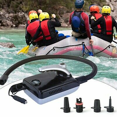 £42.99 • Buy 12V 20PSI Electric Air Pump Quick LED Digital Display For Inflatable Board Boat