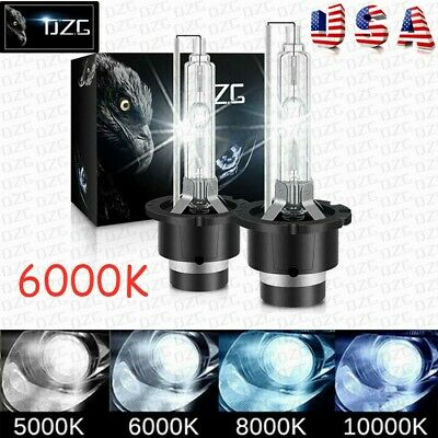 $14.99 • Buy 2X D2S 6000K D2R D2C Xenon HID Headlight Light Lamp Bulbs Replacement 35W White