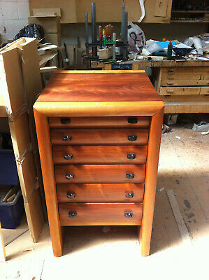 £995 • Buy Mahogany Chest Of Drawers/Collectors Cabinet