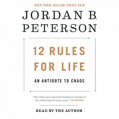 AU55.85 • Buy 12 Rules For Life: An Antidote To Chaos [Audio] By Jordan B Peterson