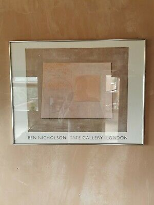 £145 • Buy Ben Nicholson 1963 Artemission, Print From Tate Gallery London 90s FRAMED