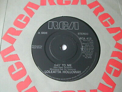 £1.71 • Buy Loleatta Holloway - Cry To Me - Rca  7