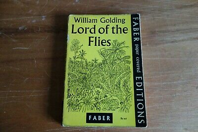 £49.95 • Buy William Golding Lord Of The Flies Paperback 1958 First Edition Faber & Faber