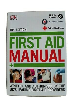 £2.30 • Buy First Aid Manual (Dk First Aid) By John Ambulance Book