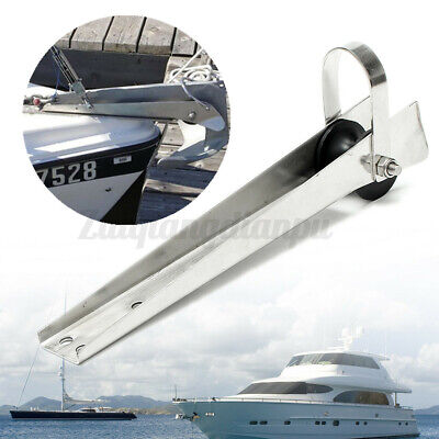 £31.93 • Buy 316 Stainless Steel Marine Boat Bow Anchor Self Launching Fixed Roller A