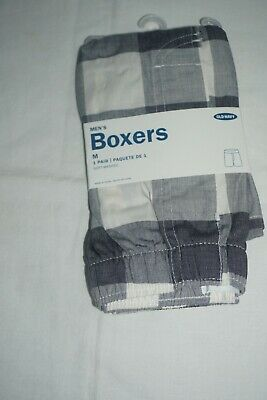 $6.99 • Buy Nwt Mens Old Navy Blue Multi Plaid Flannel Boxers Size Medium
