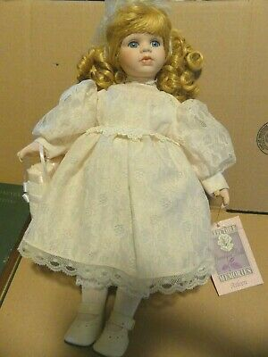 $ CDN6.24 • Buy Collectible Memories Porcelain Doll Arleen 16 Inch W/ Tag